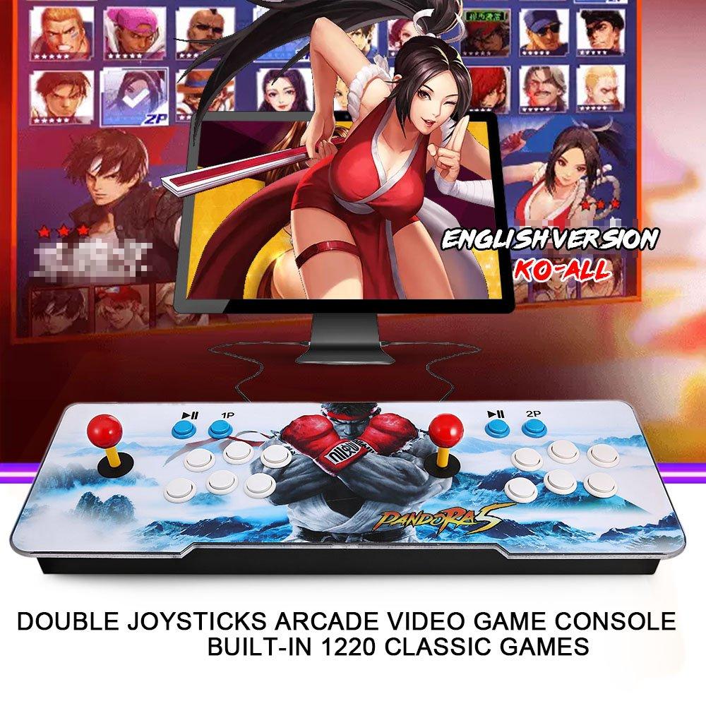 Mandos Arcade  joystick  doble raspberry