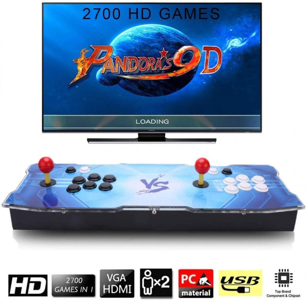 Mandos Arcade  joystick  2 jugadores