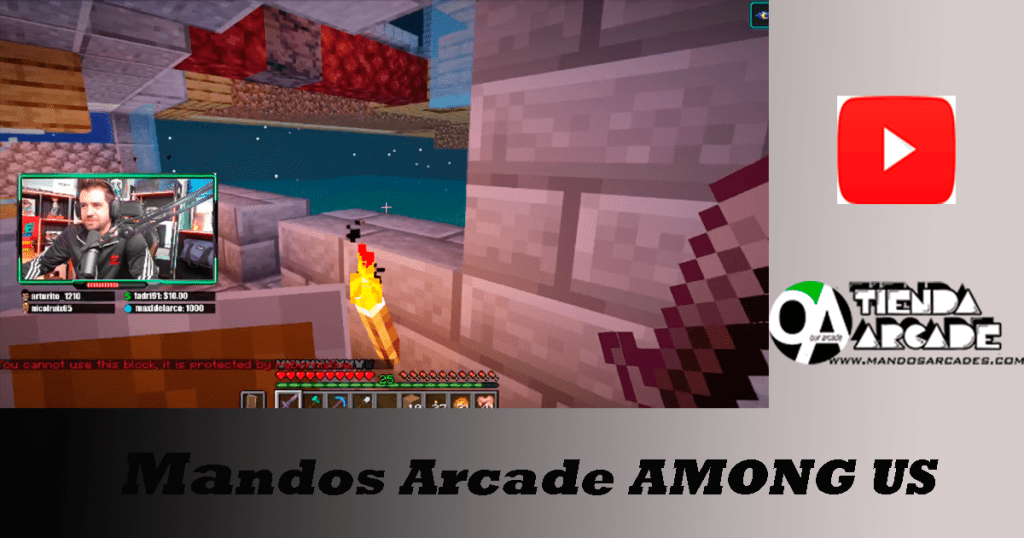 Mandos Arcade AMONG US